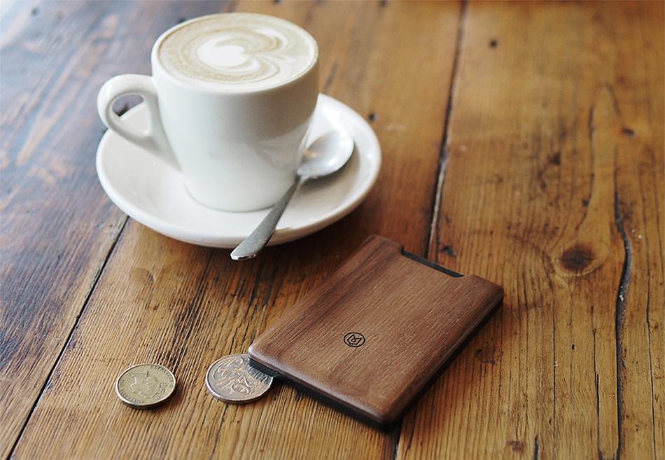 The Union Slim Wood Wallet