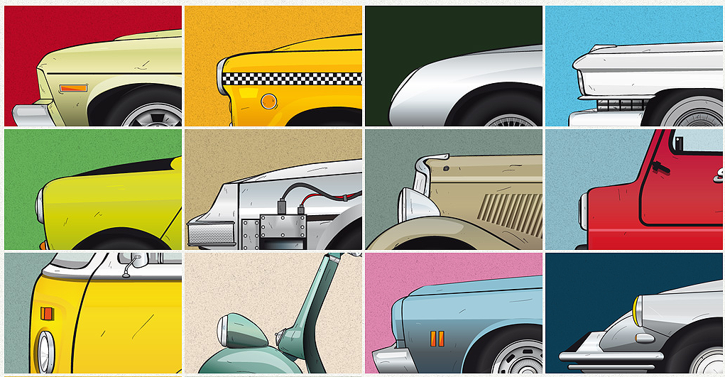 Cars and Films Prints