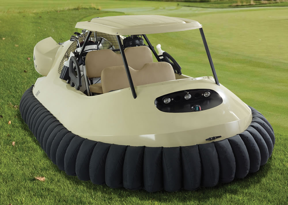Hammacher Hovercraft Golf Cart