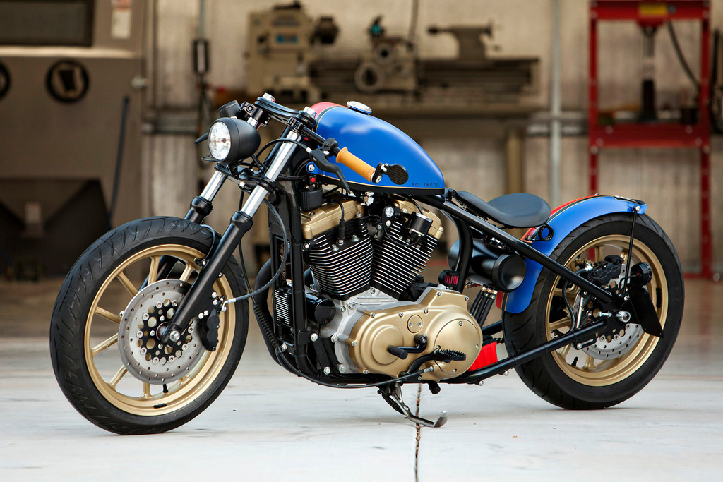 SPORTSTER HOLLYWOOD BY DP CUSTOMS-2