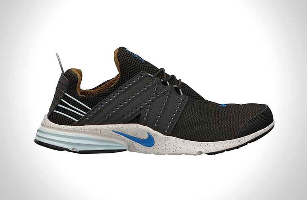 NIKE LUNAR PRESTO NEWSPRINT BLUE HERO