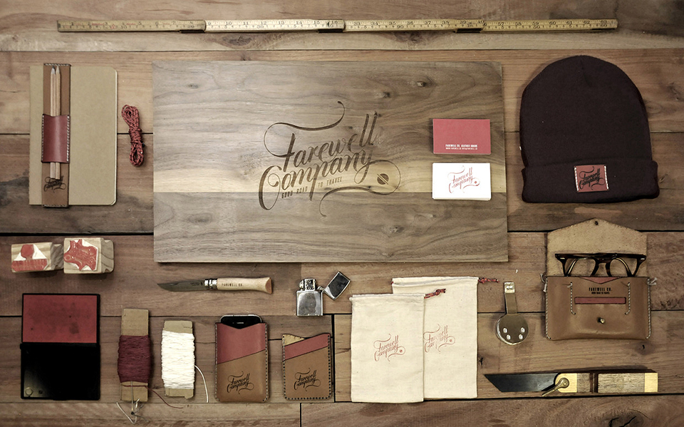 Farewell Company Gentlemens Travel Kit