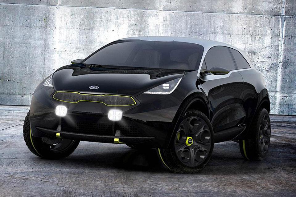 Kia Nero Concept Front