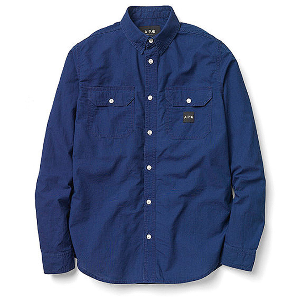 APC-Carhartt-Fall-Winter-2013-Collection-blue-shirt