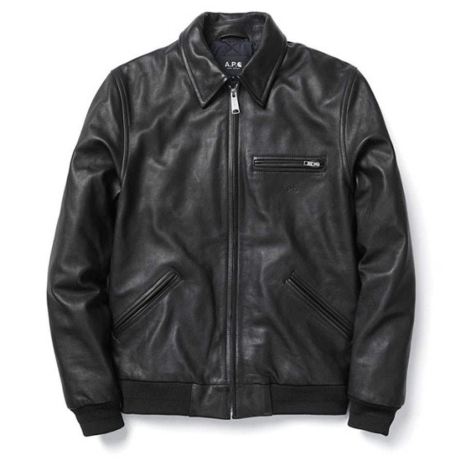 APC-Carhartt-Fall-Winter-2013-Collection-leather-jacket