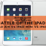 iPad Air vs iPad Mini vs iPad 2