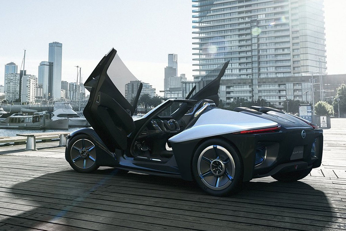 THE NISSAN BLADEGLIDER
