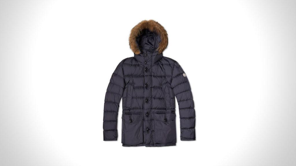 best mens winter coats | MONCLER CLUNY PARKA