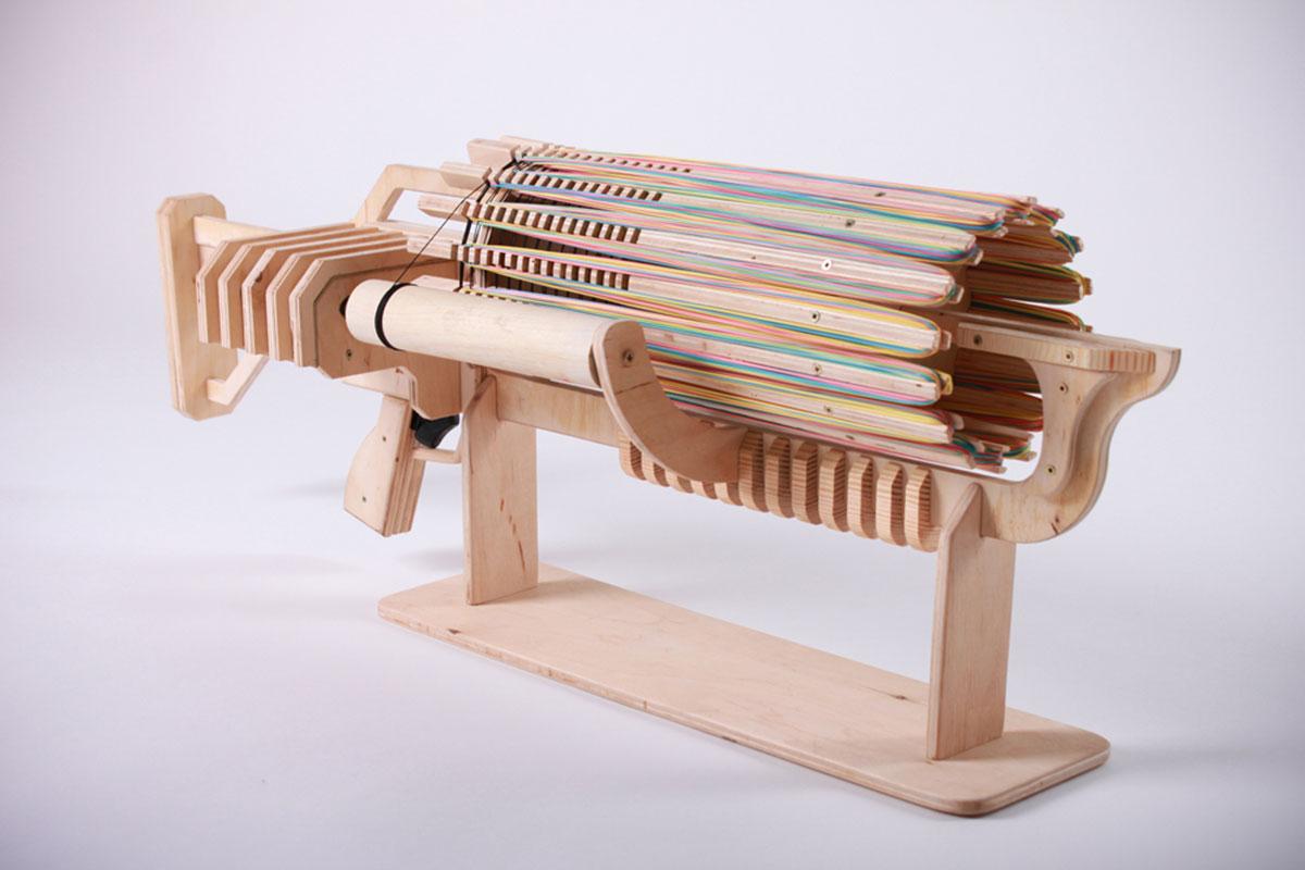 RBMG Rubber Band Gun