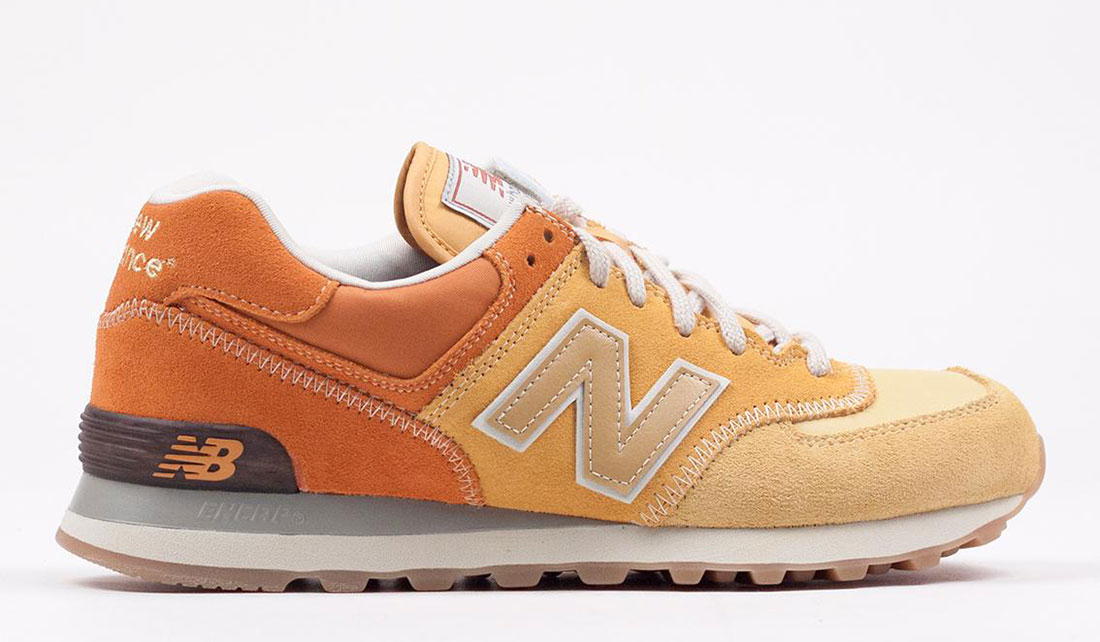 NEW BALANCE 574 - YELLOW ML574RSU