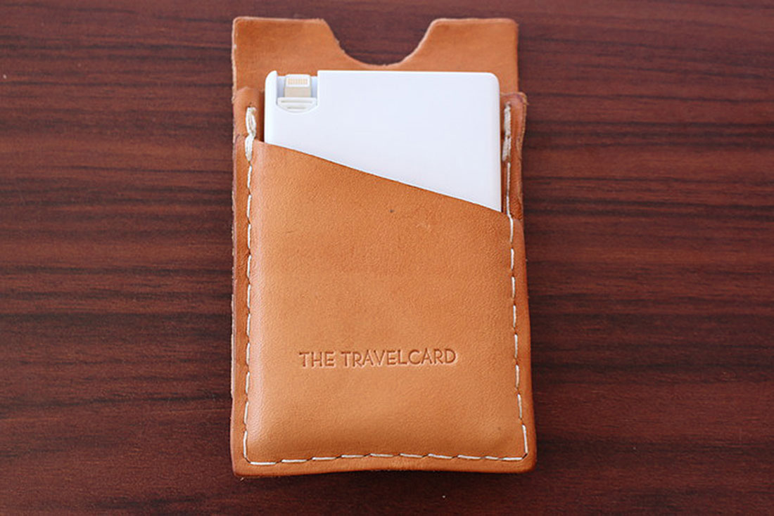 TRAVELCARD - THE SMARTPHONE CHARGER FOR YOUR WALLET