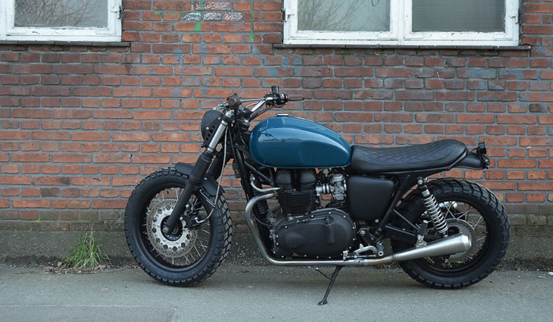 triumph thruxton 900 by wrenchmonkees muted. Black Bedroom Furniture Sets. Home Design Ideas