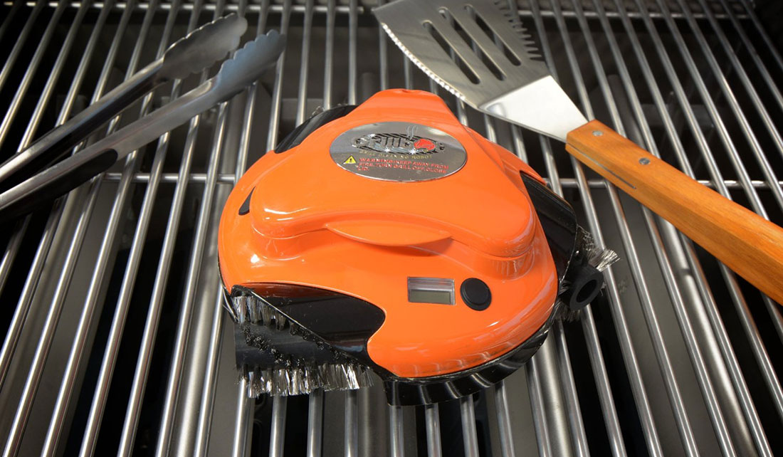 how to clean out a grill