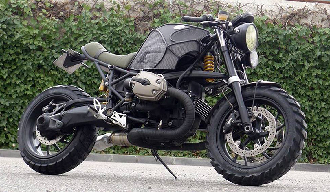 BMW R1200S CAFE RACER DREAMS MOTORCYCLE