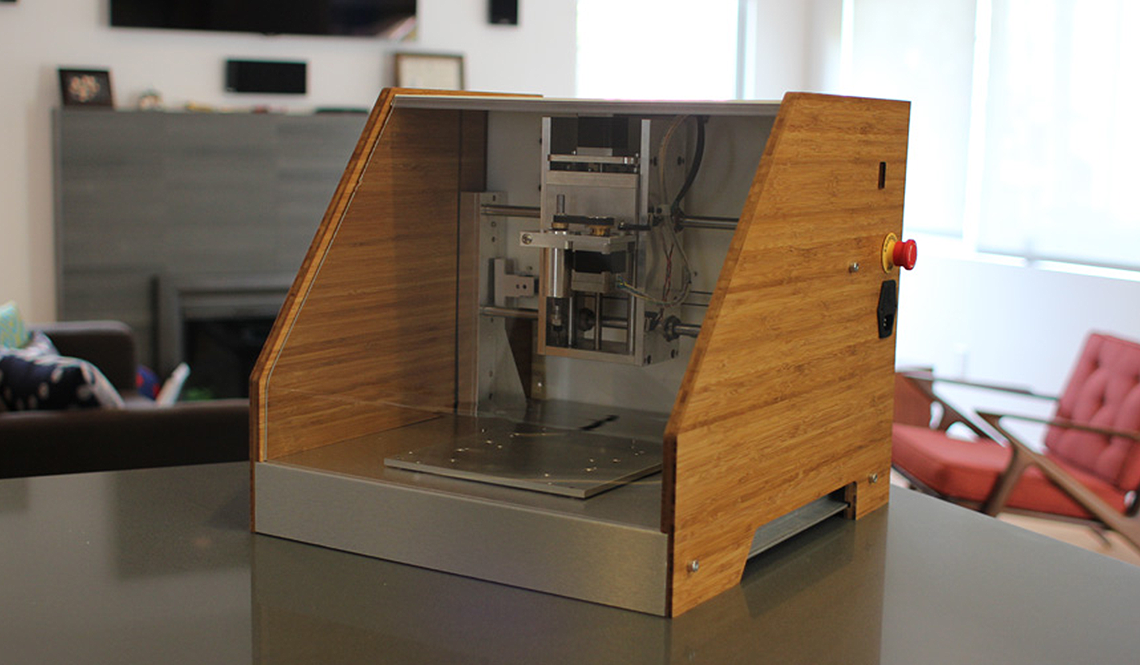 NOMAD CNC MILL BRINGS FABRICATION TO YOUR DEKSTOP