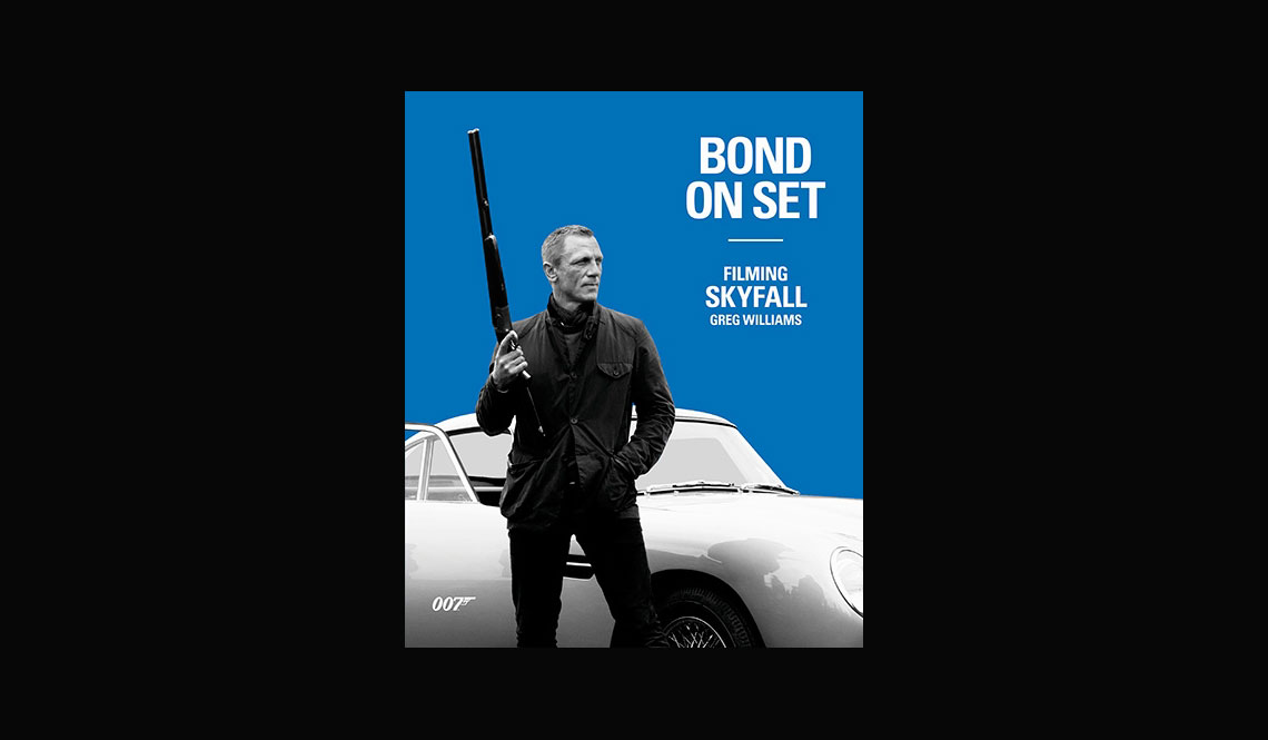 bond relating to set in place filming skyfall booklet review