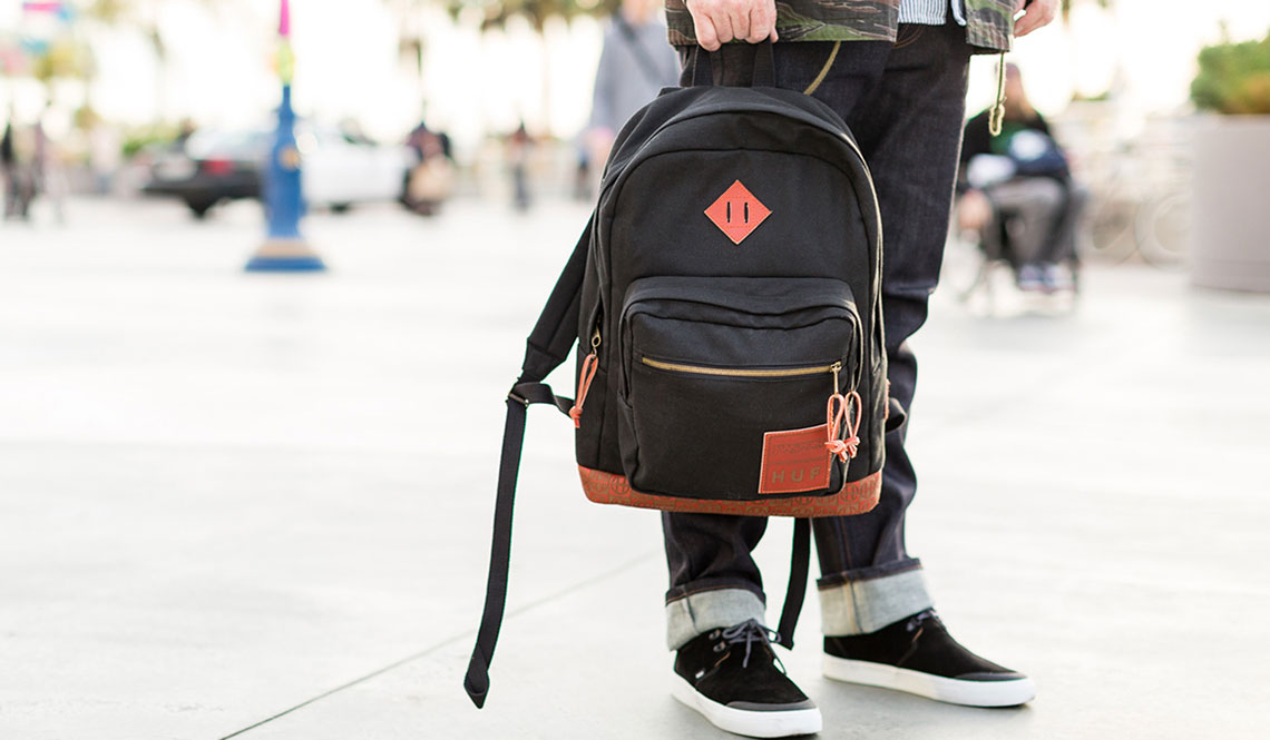 JANSPORT X HUF X RED WING COLLABORATION BACKPACK | Muted
