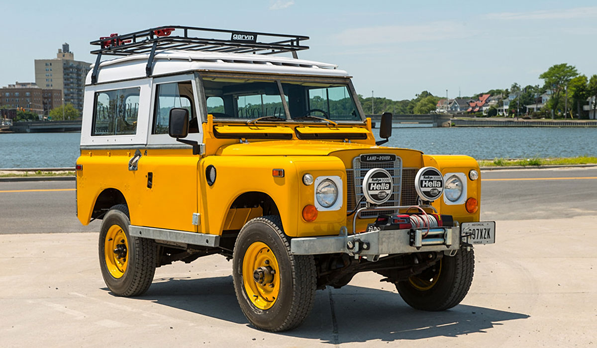 1972 LAND ROVER 88 SERIES II FOR SALE