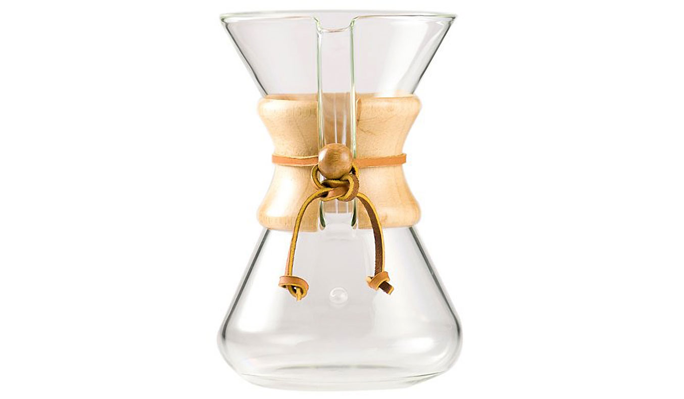 Chemex Filter-Drip Coffee Maker | Pour-Over Coffee Kit | the best way to make coffee