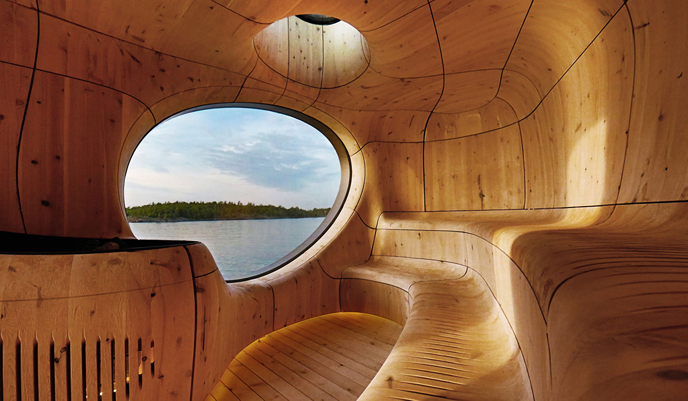 GROTTO SAUNA BY PARTISANS STUDIO