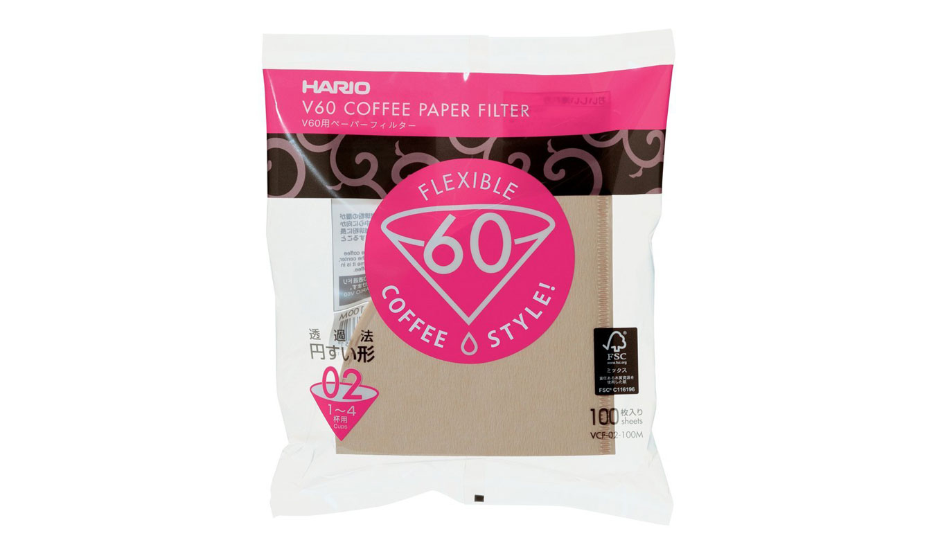 Hario 02 Paper Filter | coffee filter | Pour Over Coffee: the best way to make coffee