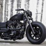 ROUGH CRAFTS FAT BOB DYNA GUERILLA MOTORCYCLE