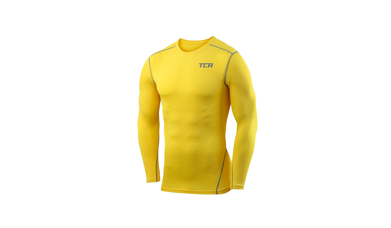 TCA PRO PERFORMANCE COMPRESSION BASE LAYER TOP LONG SLEEVE THERMAL BODY ARMOUR | Extreme Cold Weather Gear