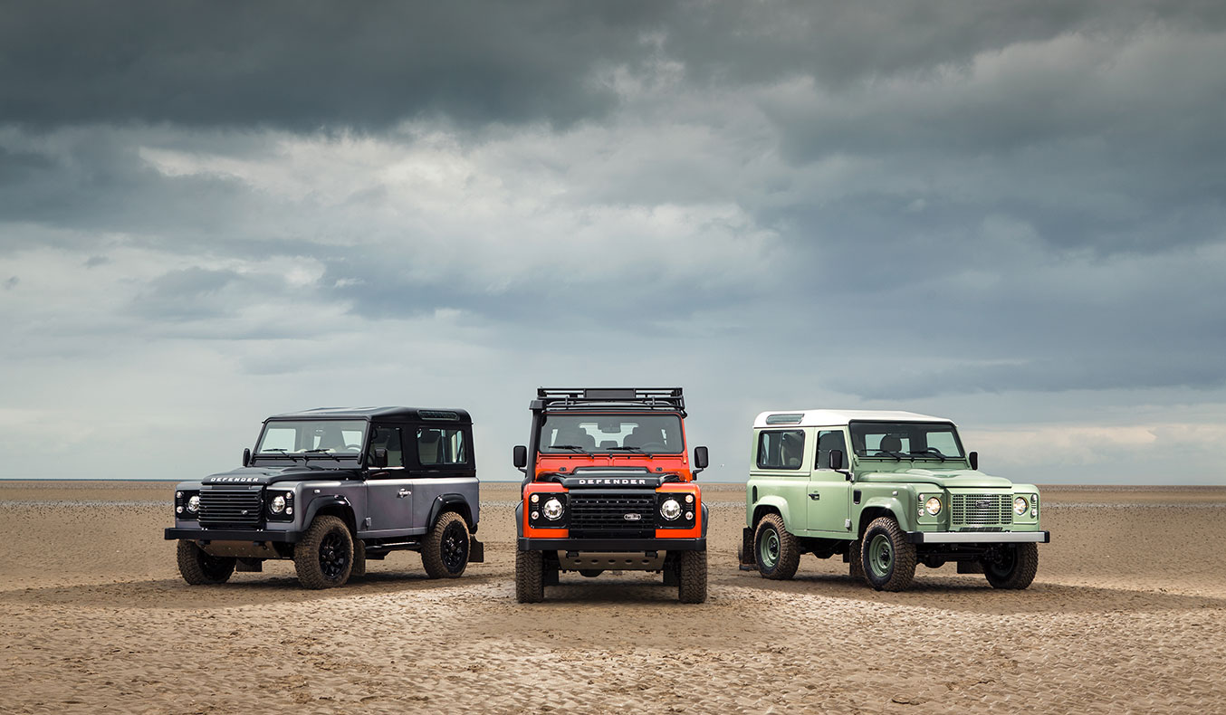 THE LAST LAND ROVER LIMITED EDITION DEFENDERS
