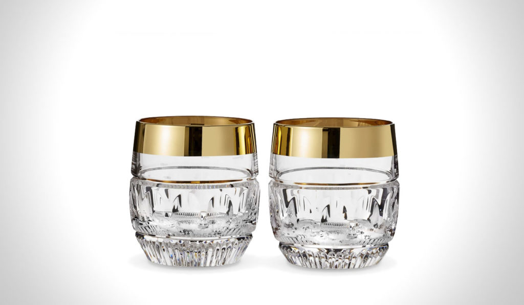 WATERFORD MAD MEN EDITION DRINKWARE   gifts for whiskey lovers