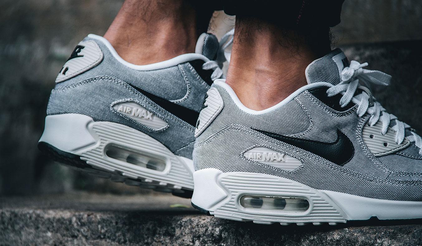 nike air max 90 gray