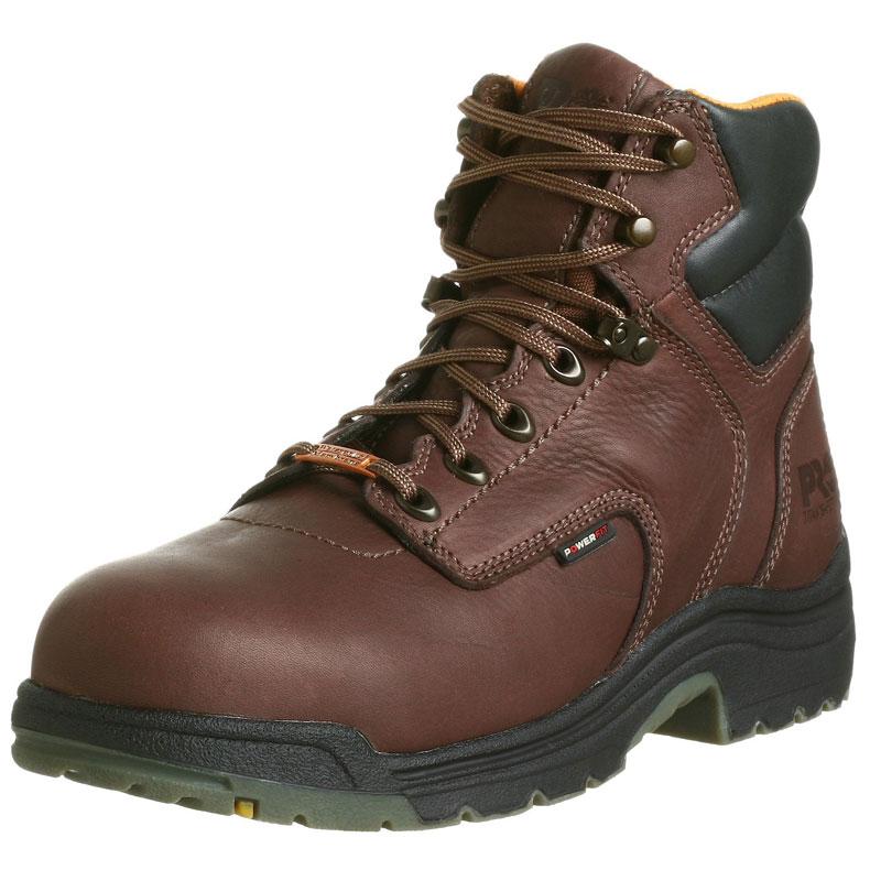 """TIMBERLAND PRO MEN'S 26078 TITAN 6"""" WATERPROOF MENS WORK BOOT   Best Mens Work Boots"""