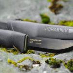 MORA BUSHCRAFT CARBON BLACK KNIFE