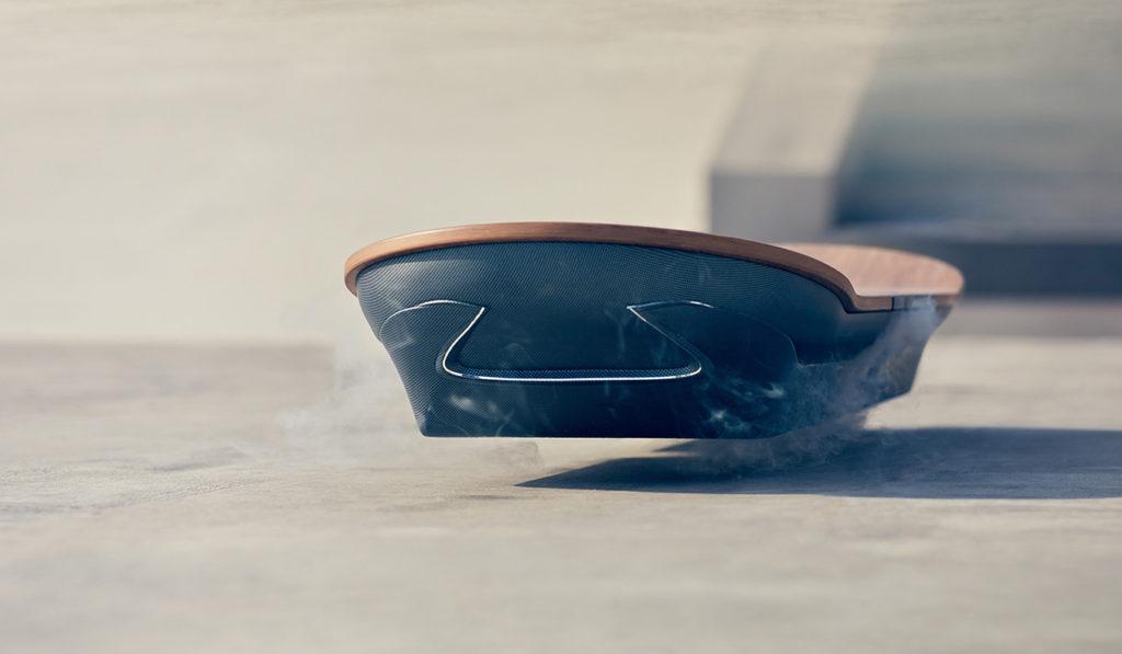 SLIDE: THE LEXUS HOVERBOARD