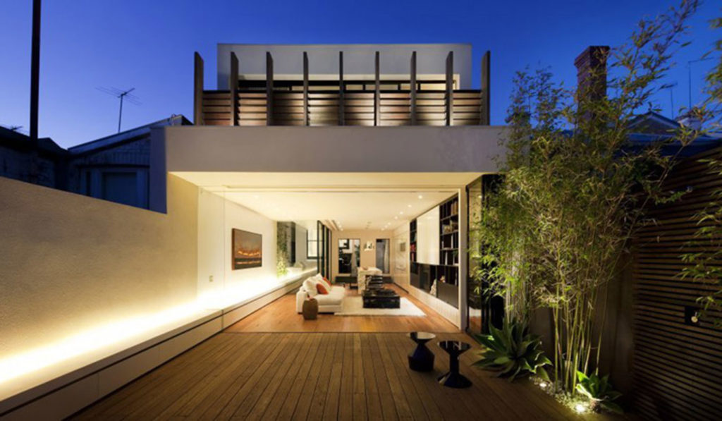 The-Nicholson-Residence-By-Matt-Gibson-Architecture-+-Design-Melbourne-Terrace-Living-Space