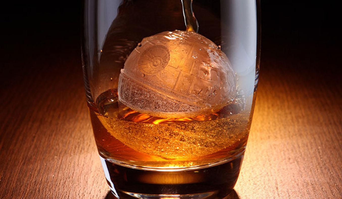 death star ice cube mold