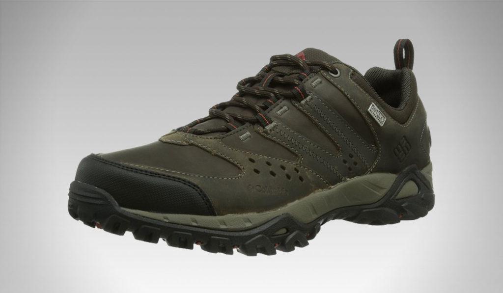 Columbia Men's Peakfreak XCRSN Mid Leather Outdry Hiking Sneaker | best men's hiking boots