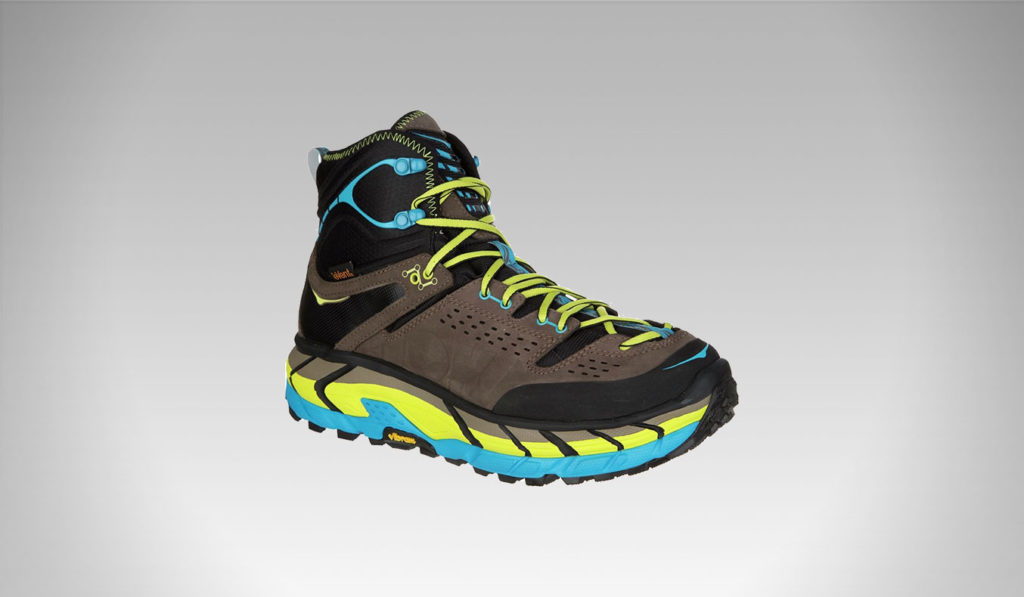 HOKA ONE Men's Tor Ultra Hi Waterproof Mid Hiking Boots | best men's hiking boots