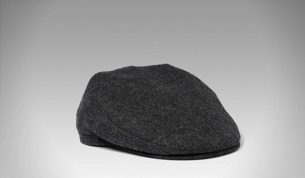 Lock & Co Hatters' charcoal flat cap | Best Men's Winter Hats
