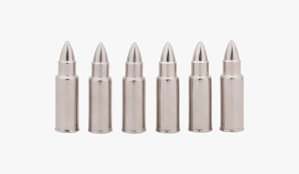 Chill-O Stainless Steel Whiskey Bullet Set   gifts for whiskey lovers
