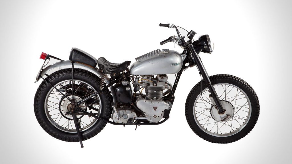 Murdercycles Evel Has Jumped The Shark: FONZIE'S HAPPY DAYS 1949 TRIUMPH MOTORCYCLE IS UP FOR