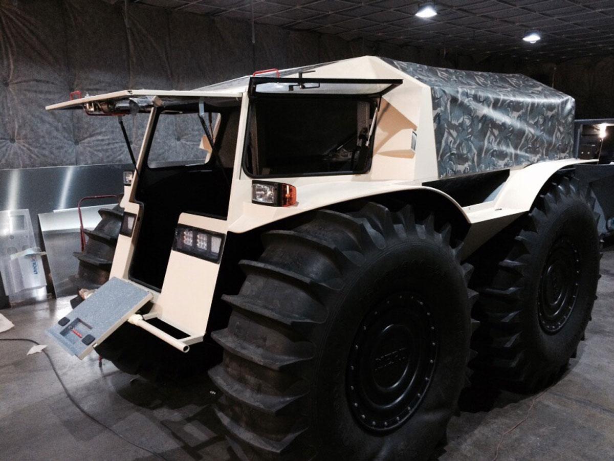 SHERP ATV 9