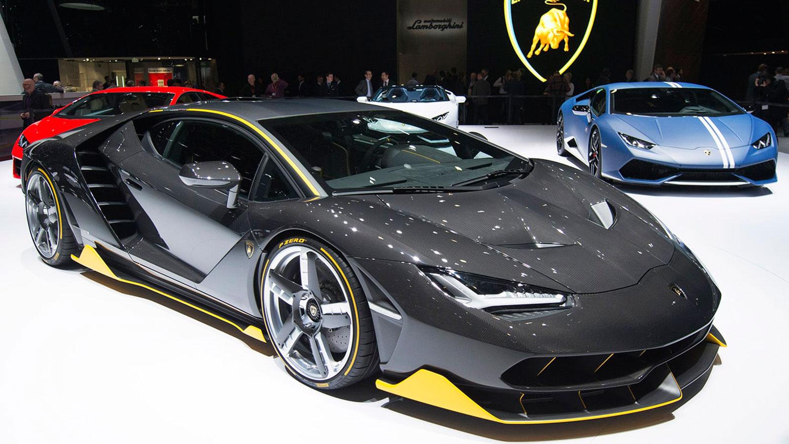 GENEVA AUTO SHOW: LAMBORGHINI CENTENARIO