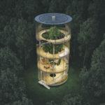 THE TUBULAR TREE HOUSE BY AIBEK ALMASSOV