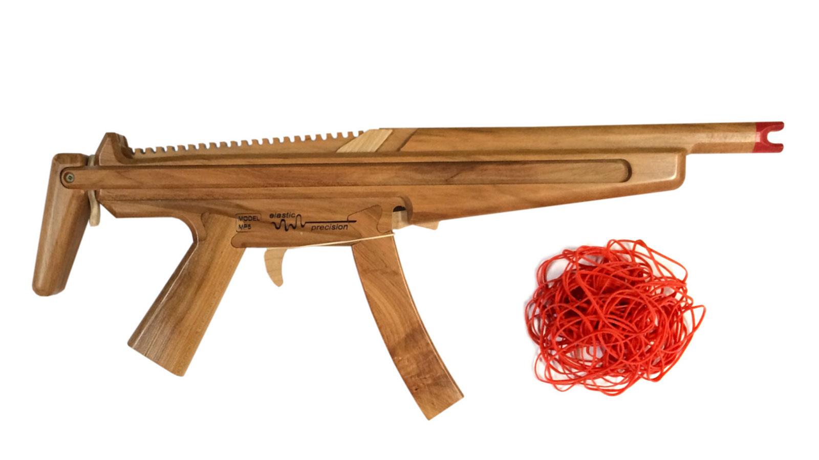 ELASTICPRECISION RUBBER BAND SUB-MACHINE GUN