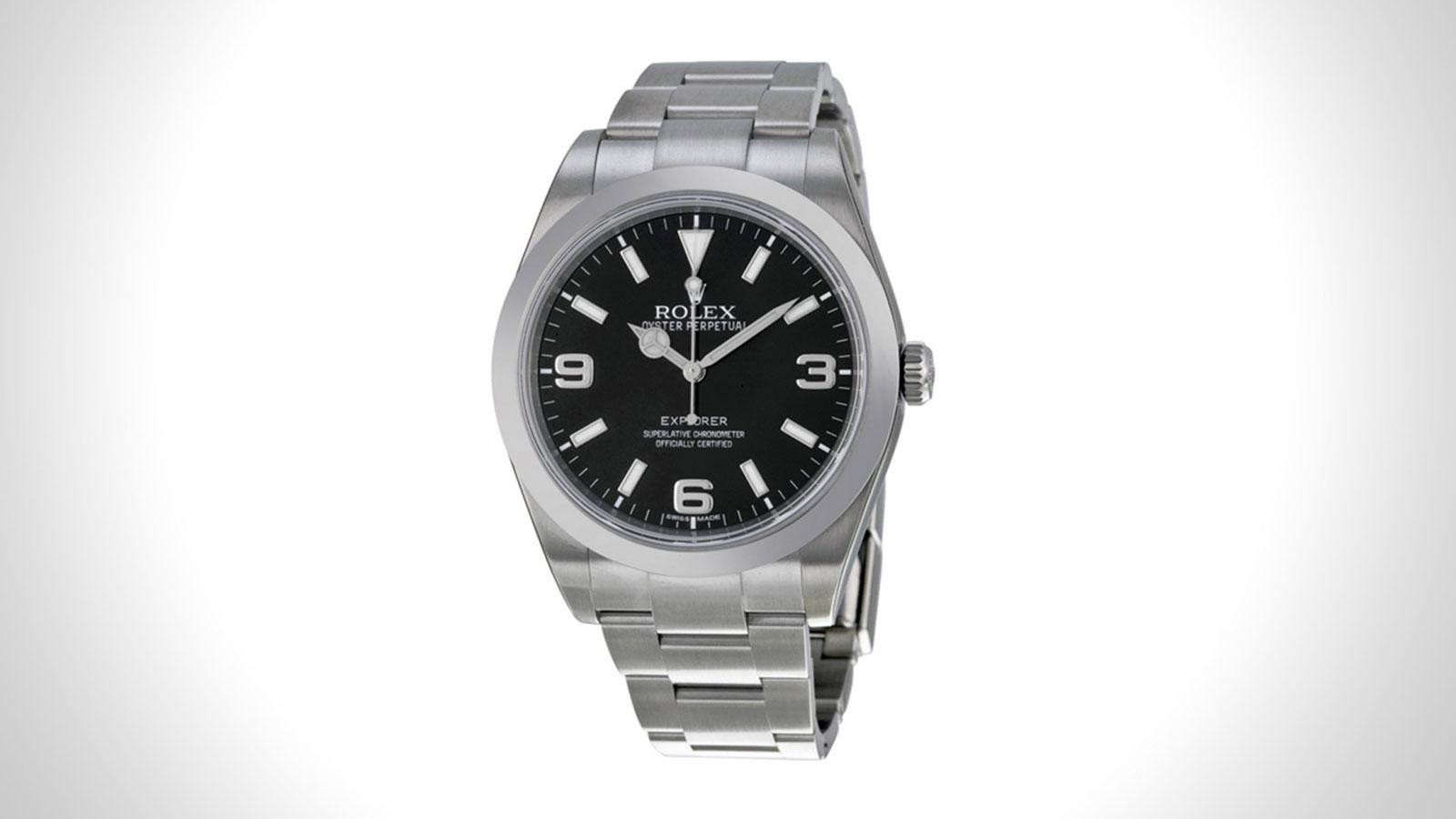 Rolex Explorer Mens Field Watch | the best mens field watch