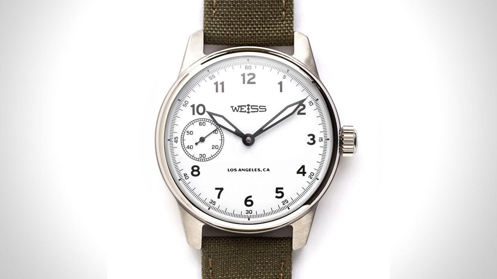 Weiss Standard Issue Mens Field Watch | the best mens field watch