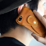 IPHONE SE LEATHER CASE BY ROBERU