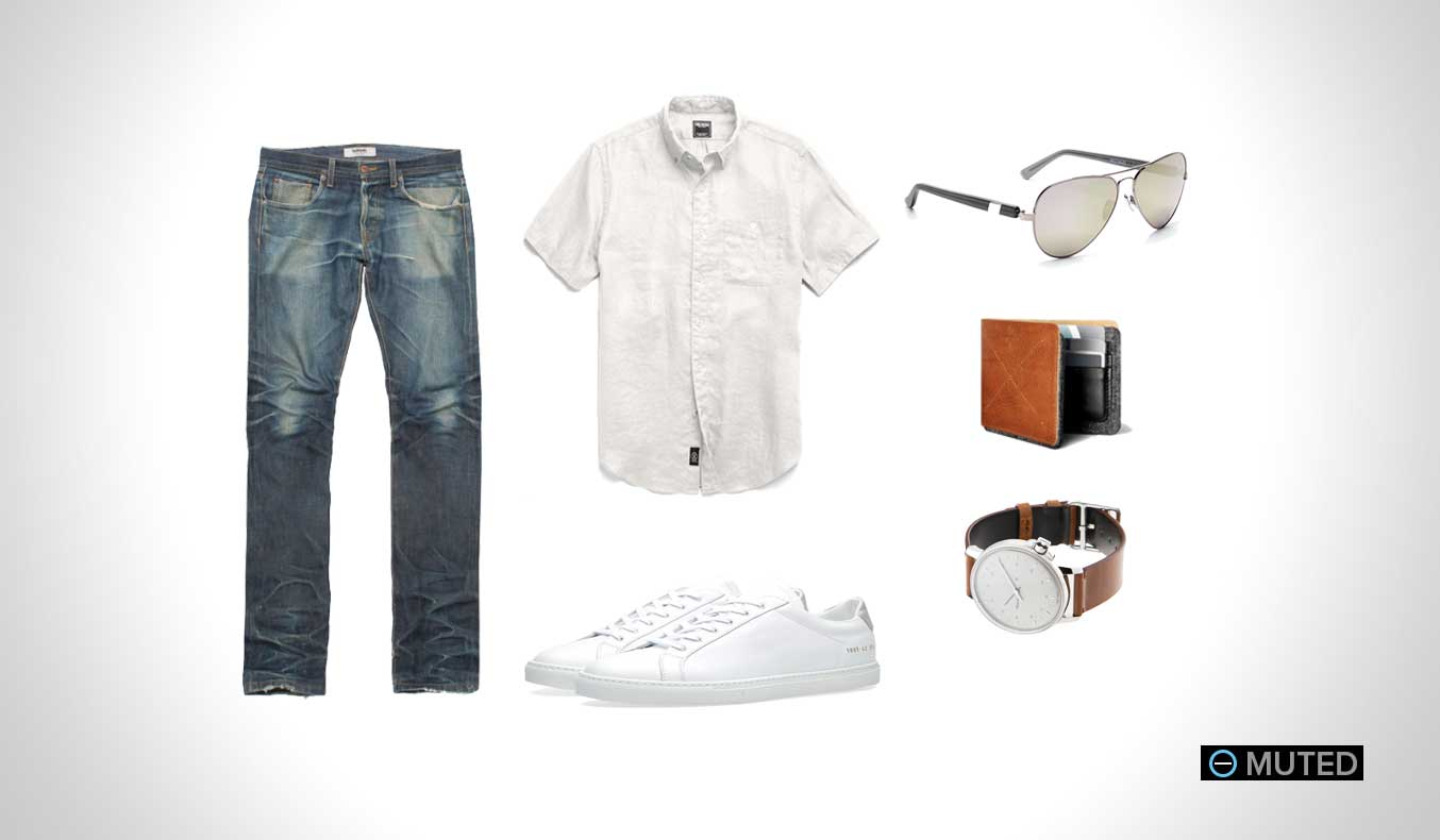 Muted Mens Outfit Ideas Summer #11