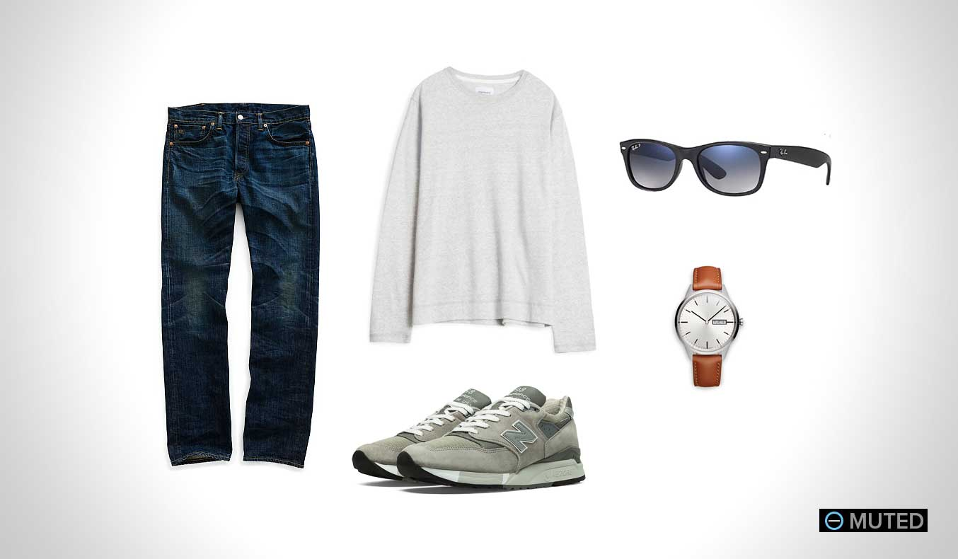 Muted Mens Outfit Ideas Summer #4