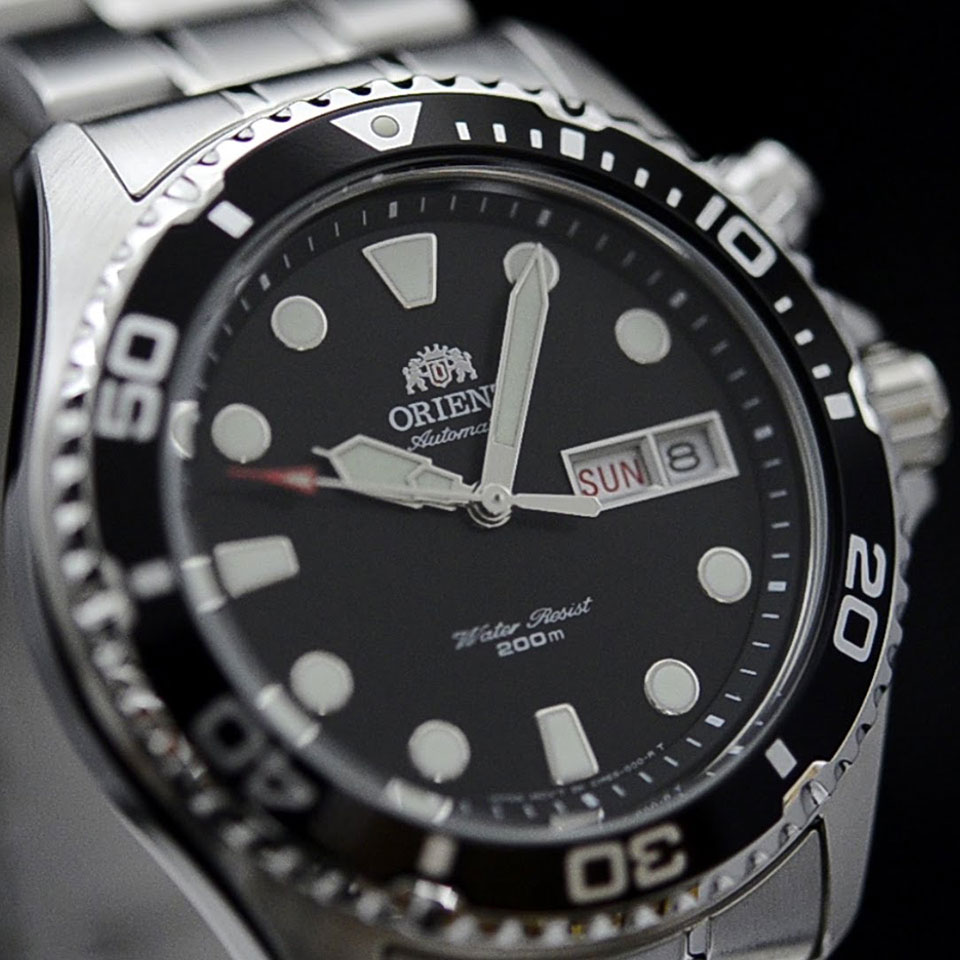 Orient Ray II |Affordable Dive Watches